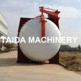 PLC controló la manguera de goma autoclave Vulcanizing Tank Vulcanizer Machine