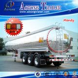 40.000 litros de aleación de aluminio de combustible / agua / vino Cisterna Semirremolque