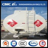 Cimc Huajun 2axle Aluminium Alloy Chemical Liquid Tanker