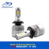 Precio más bajo 36W 4000lm 6500K H7 S2 COB LED lámpara de la cabeza de la linterna del coche de reemplazo