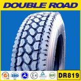L'importation chinois route semi-doubles pneus de camion lourd 11r22.5 11r24.5 285/75R22.5 Les pneus de camion