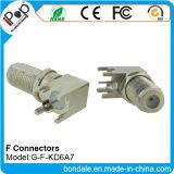 Connecteurs de connecteur coaxial de BNC F Kd6a7 pour des connecteurs de rf