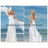 Пляж свадебные платья (WH0050)