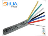 Провод кабеля LAN изолированный электрический