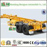 2 Axle/3 As 40 ' Aanhangwagen van de Container van het Skelet de Semi
