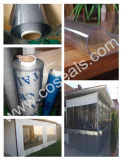 Strato molle del divisorio del PVC della radura per il portello