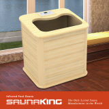 Pé de madeira de infravermelhos Saunaking Sauna (FBB-UM180)