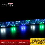 Luz brillante multicolora delgada Sm7004 de la cuerda de la luz del azote de Urtal LED del nuevo diseño