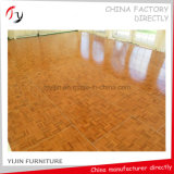 Madera de teca amarillo chapa de fábrica de fabricación Disco Dance Floor (DF-22)