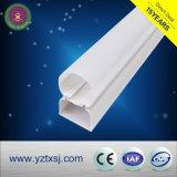 Tipo cubierta material del círculo del tubo del PVC LED