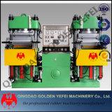 Automatische Dubbele het Vulcaniseren van de Druk van de Injectie Machine