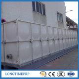 長方形のボルトで固定されたSMC FRPの水漕