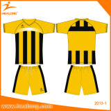 新しいパターンスポーツ・ウェアのチームクラブのためのカスタム昇華サッカーのユニフォーム
