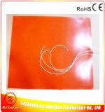 Elemento de aquecimento elétrico flexível da borracha de silicone de 12 volts