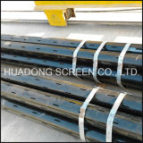 CNC Laser Cutting Slotted Pipe API Casing Pipe Round Hole Tubo Perfurado