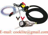 medidor de fluxo elétrico do combustível do biodiesel da bomba de transferência de petróleo Diesel 45L/Min da C.C. 12V/24V