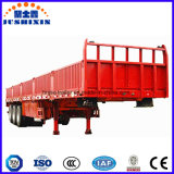 Fabricante Jushixin Best-Selling 3 BPW Axles Fence Cargo Semi Truck Trailer para Venda