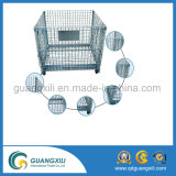 Envase de almacenaje pesado del acoplamiento de alambre de metal del cargamento