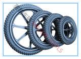هوائيّة مطّاطة عجلة درّاجة إطار مع حاسة بلاستيكيّة