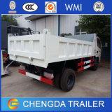 3ton 5ton HOWO Dongfeng Fotonのダンプのダンプカーライトダンプトラック