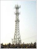 башня башни и решетки телекоммуникаций 60m стальная и угловая башня