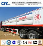 De GNL do oxigênio líquido do nitrogênio do argônio de carbono do dióxido do combustível do petroleiro reboque químico Semi