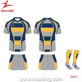 Les uniformes de gros Healong Rugby Shirt maillot de rugby de conception personnalisée