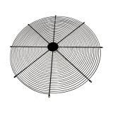 Il ventilatore ricoperto PVC della rete metallica custodice le protezioni industriali del ventilatore