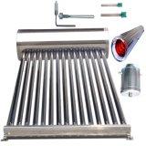 避難させた管の太陽給湯装置(ソーラーコレクタ)