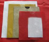 Bolsa de papel Growing revestida de la protección de Apple de la cera biodegradable impermeable por encargo