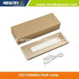Popular portátil portátil dobrável LED lâmpada de mesa