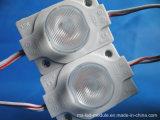 Módulo plástico do diodo emissor de luz da tampa do ABS para o sinal da canaleta