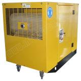 Gerador de gasolina silencioso portátil de 8,5kw para espera doméstica com Ce / CIQ / ISO / Soncap