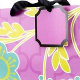 Bolsas de papel para las compras, bolsos del regalo, bolsas de papel de Kraft.