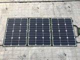 야영을%s 접히는 총괄적인 태양 모듈 120W