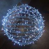 3D LEDのクリスマスの丸いボールのモチーフライト