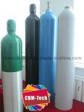ISO7866標準高圧40LのアルミニウムO2ガスポンプ