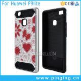 Los colores pintados adelgazan la caja del teléfono de la armadura para Huawei P9 Lite