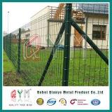 Загородка панелей сада евро Corrugated твердая/гофрировала стальную загородку