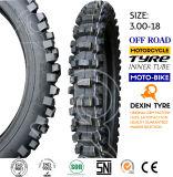 O africano fora da motocicleta do pneumático da estrada parte o pneu 3.00-18 da motocicleta do pneumático da motocicleta do velomotor