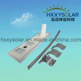 A intégré tous dans un réverbère solaire 40W pour extérieur