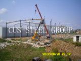 現代軽い鋼鉄倉庫または鉄骨構造の建物