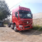 Sinotruk HOWO 트랙터 트럭 336HP 6X2 트레일러 헤드 트럭
