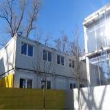 Edificio modular de viviendas móviles prefabricadas para diversos fines