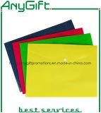 Détenteur du dossier en PP avec couleurs personnalisés et le logo 03