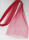 Raschelのレノのドローストリングは野菜オレンジプラスチック網の純袋の包装食品等級のタマネギのポテトのニンニクの突き出た