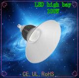 Enseada de LED de iluminação Luz High Bay /LED High Bay 100W com CE, UL. RoHS