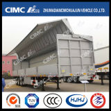 Cimc Huajun 3axle Van/Box Semi Trailer con Wingspan