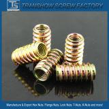 Bañado Muebles Hardware color Zinc aleación de zinc Insertar Nut