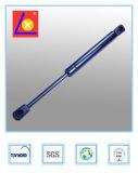 Suporte de gás da caixa de ferramentas com montagem de extremidade do sulco preto